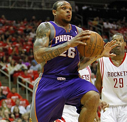 With 10 points, Shannon Brown is one of six Suns to score in double digits against the Rockets.  (US Presswire)