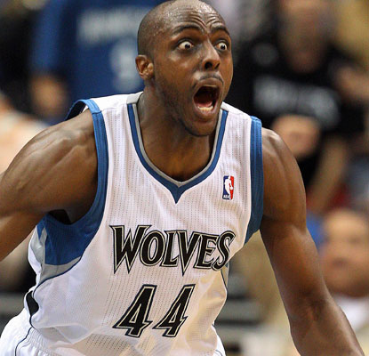 Anthony Tolliver and the Wolves have lost 11 straight and their last 27 games in April.  (US Presswire)