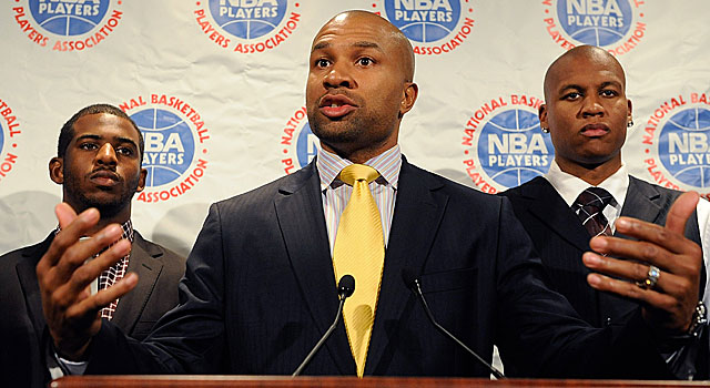 President Derek Fisher's look into the NBPA's business dealings has led to him being voted. (Getty Images)