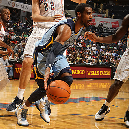 Mike Conley scores 20 points to lead the Grizzlies past the Bobcats, assuring Memphis of at least a fifth seed in the West.  (Getty Images)