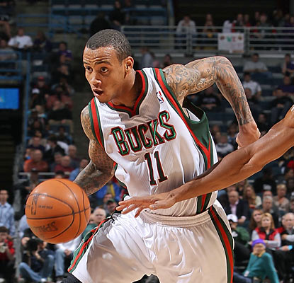 The late addition of ex-Warrior Monta Ellis to the Bucks doesn't help them claim a spot in the postseason. (Getty Images)