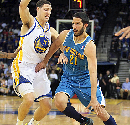 Greivis Vazquez comes through for the Hornets by scoring 11 points with six rebounds and seven assists. (US Presswire)