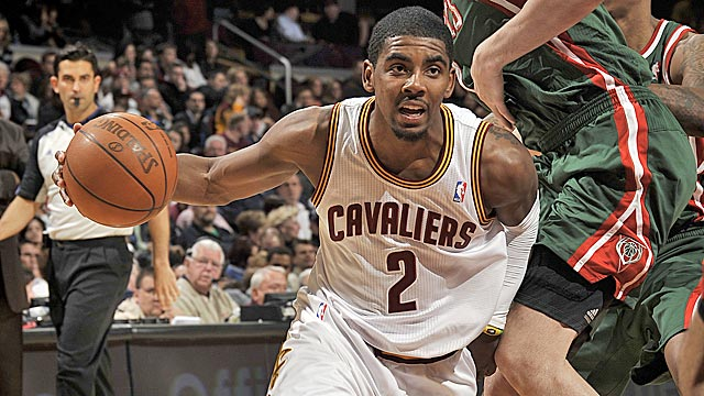 No. 1 pick Kyrie Irving dominated the rookie of the year race from start to finish. (Getty Images)