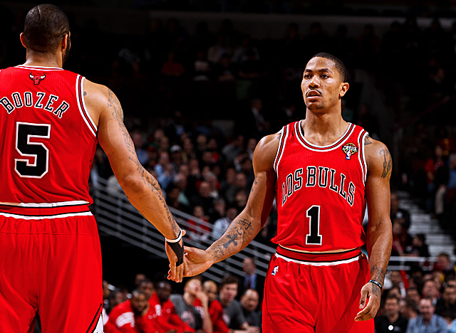 Rose won't repeat as MVP, but it hardly matters since his team is having a finals-worthy season. (Getty Images)