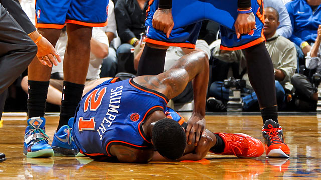 Who knows if Iman Shumpert might have avoided injury had the season not been shortened. (Getty Images)