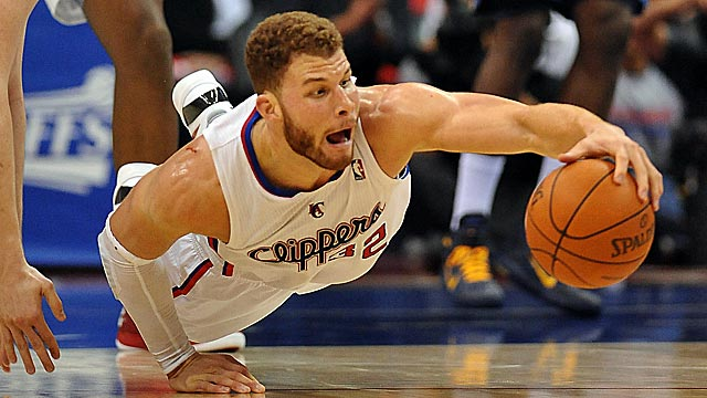 Blake Griffin scores 17 points in Game 6, but his injured knee is clearly slowing him. (US Presswire)