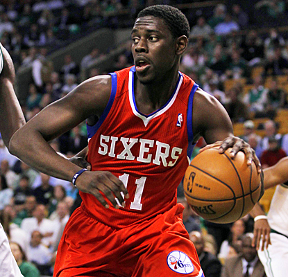 Jrue Holiday helps the Sixers tie up their series with a Celtics by scoring 18 points in Game 2. (US Presswire)