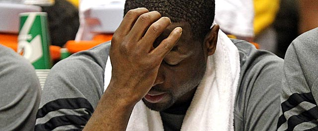 After scoring five points in Game 3, Wade says the Heat have moved on already. (Getty Images)