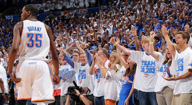 Game 4 proves once and for all that it's Kevin Durant's show in Oklahoma City. (Getty Images)