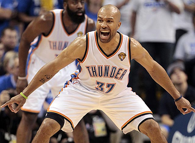 'I'm for sure enjoying my time here,' says Fisher about playing in Oklahoma City. (Getty Images)