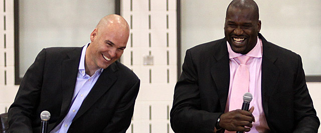Ferry, who brought Shaq to Cleveland during his five years as Cavs GM, takes over in Atlanta. (Getty Images)