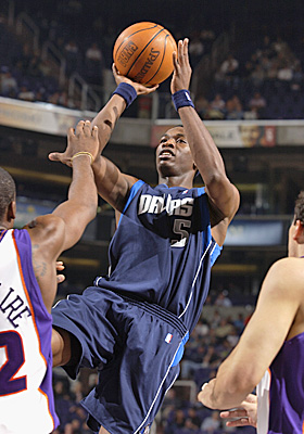 Josh Howard has averaged a solid 14.5 points per game since being taken 29th by the Mavs in 2003. (Getty Images)