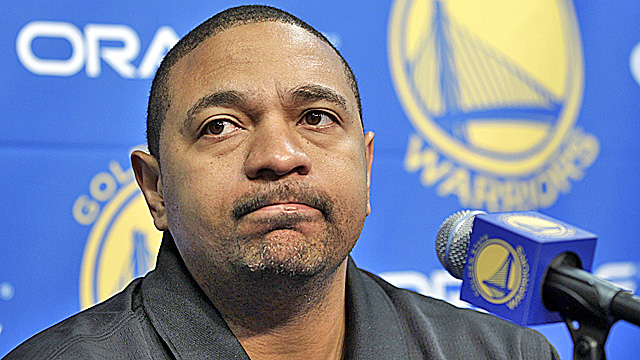 Warriors coach and former NBA star Mark Jackson has some explaining to do. (US Presswire)