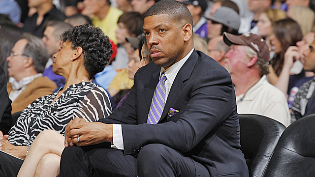 Mayor Kevin Johnson is done trying to keep the Maloof brothers from moving the Kings. (Getty Images)