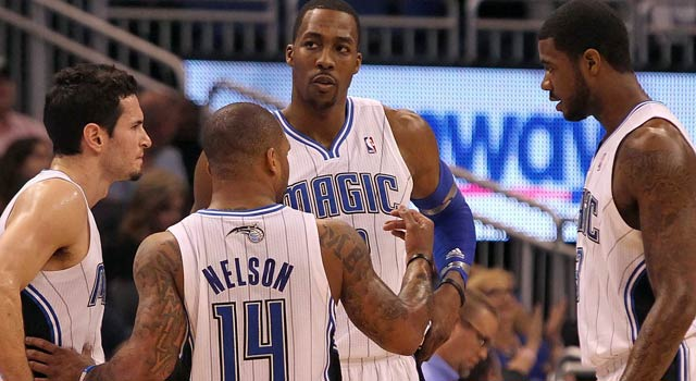 Dwight Howard might still be with the Magic when the season starts, which is bad for everyone. (US Presswire)
