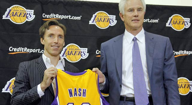 Nash on being in L.A.: 'Being here right now is something I never foresaw.' (AP)