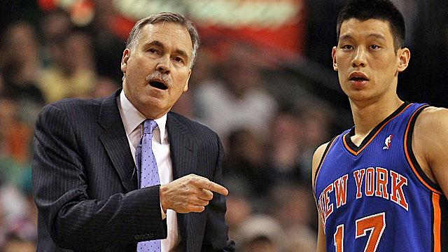 Mike D'Antoni says it's unwise to doubt Lin. (Getty Images)