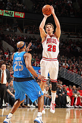 Kyle Korver's jumper was too expensive for the Bulls. (Getty Images)