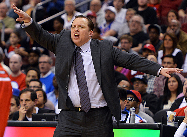 Coach of the Year runner-up Tom Thibodeau will be with the Bulls for four more years. (Getty Images)