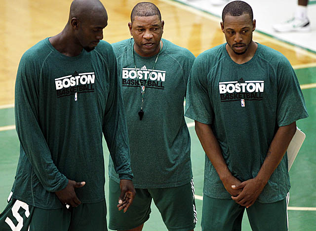 In the quest to help the Celtics forge a new identity, Doc Rivers starts with a focus on defense. (US Presswire)