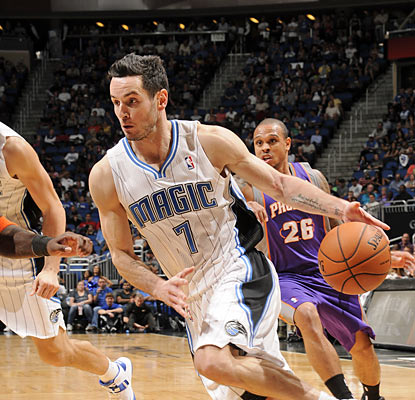 J.J. Redick leads the Magic in scoring with 24 points to help his club overcome a 13-point hole in the second half. (Getty Images)