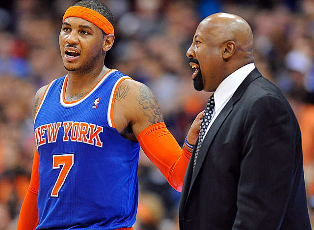Melo no doubt can keep up his torrid scoring all season, but can the Knicks keep winning? (US Presswire)