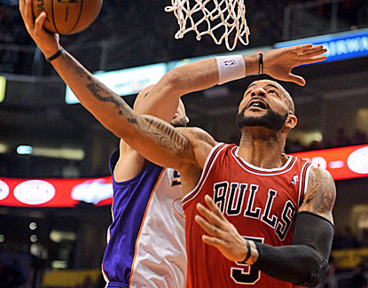 Post image for Boozer And The Bulls Outshine The Suns In Overtime