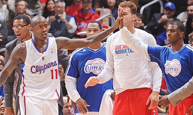Reserves like Jamal Crawford (11) are playing well, and that encourages the Clippers' starters. (Getty Images)