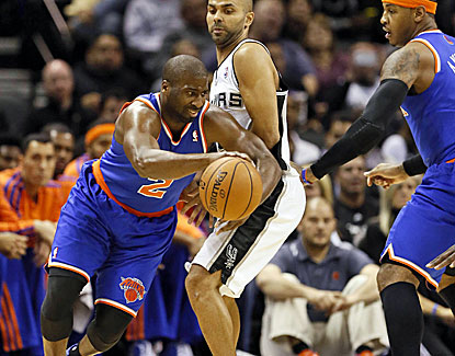 Raymond Felton scores 25 points on Thursday and is thriving recently in his return to the New York Knicks. (US Presswire)