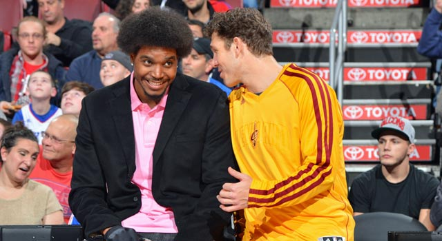 The Sixers won't be seeing Andrew Bynum on the court anytime soon. (Getty Images)