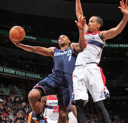 Ramon Sessions totals 20 points and the Bobcats earn their seventh win, matching last year's total when they went 7-59.  (Getty Images)
