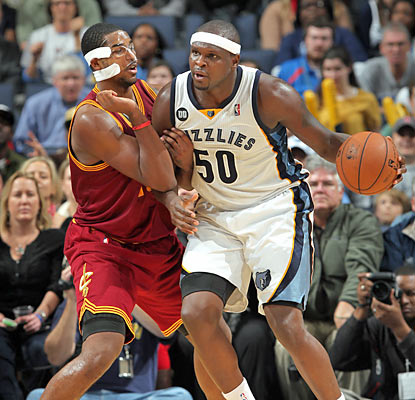 Zach Randolph ties a team-high with 19 points and also provides eight rebounds in the win. (Getty Images)