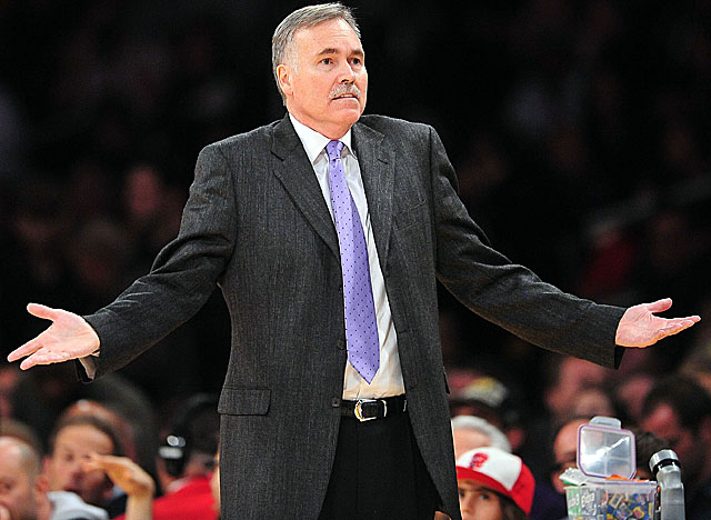 Can new coach Mike D'Antoni turn around the Lakers' poor play on defense? (Getty Images)