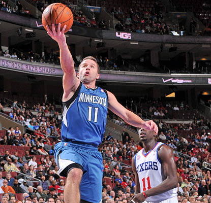 J.J. Barea provides 11 points and 10 assists off the bench as the Wolves shred the Sixers. (Gaming Original Feed)