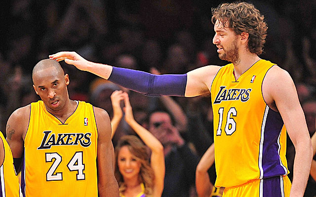 Pau Gasol's inconsistent play and uneasiness with Mike D'Antoni may lead to his departure. (US Presswire)