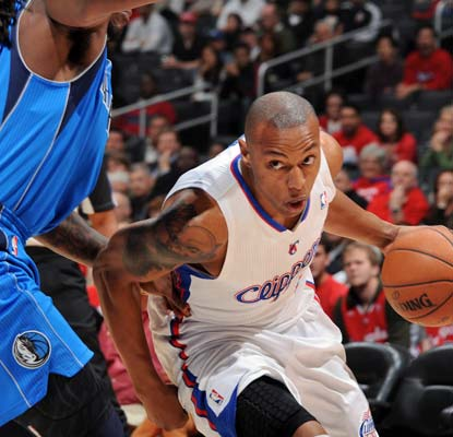Caron Butler nets 16 points and the Clippers shoot 50 percent from the field to dominate the Mavericks.  (Getty Images)