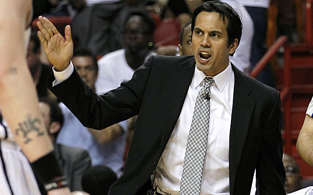 Spoelstra says the Heat can fix their defensive problems before playoff time. (AP)