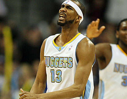 Denver's Corey Brewer matches his career high with 27 points against the Lakers. (US Presswire)