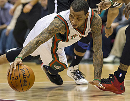 Monta Ellis scores 20 points to go with a season-high six steals. He also makes  all three of his 3-point attempts. (US Presswire)