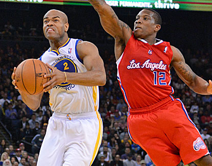 Jarrett Jack scores 18 points and adds 10 assists off the bench for the Warriors. (US Presswire)