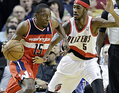 Jordan Crawford scores 13 points in 22 minutes, including a 3 at the buzzer to win it for Washington. (AP)