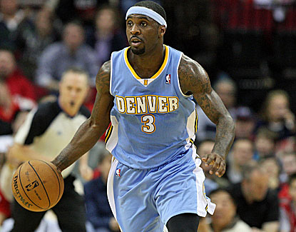 Denver's Ty Lawson scores 21 points to go with 7 assists and 4 rebounds against Houston. (US Presswire)