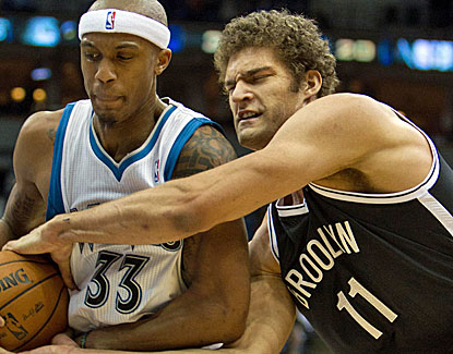 Brook Lopez strengthens his case for a spot on the All-Star team with 22 points on 10-for-16 shooting. (US Presswire)