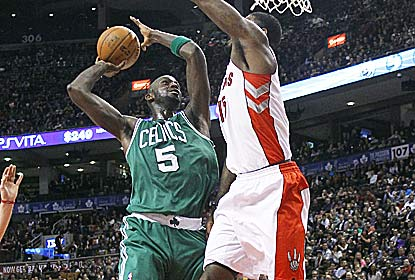 Kevin Garnett has a season-high 27 points and 10 boards for Boston, which wins its fifth straight since losing Rajon Rondo. (US Presswire)