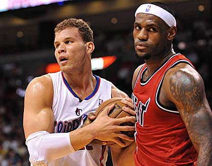 LeBron James scores 30 points as the Miami Heat pick apart Blake Griffin and the Clippers. (US Presswire)