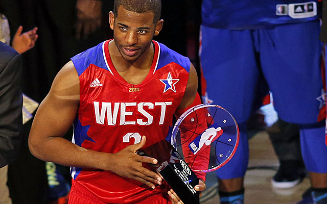 All-Star MVP Chris Paul did not come to Houston to waste anyone's time -- least of all, his own. (US Presswire)