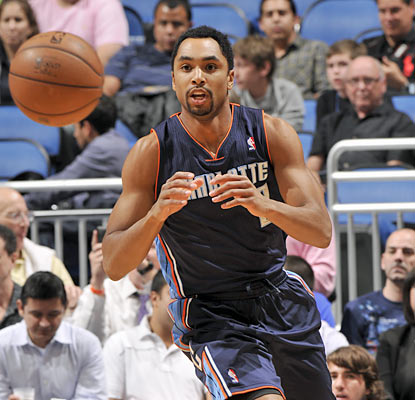 Gerald Henderson (8 of 16 for 24 points) is one of the three Bobcats to score 20-plus points against the pesky Magic. (Getty Images)