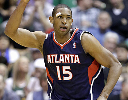 Atlanta's Al Horford scores 34 points and grabs 15 rebounds, schooling the Utah Jazz down the stretch. (AP)