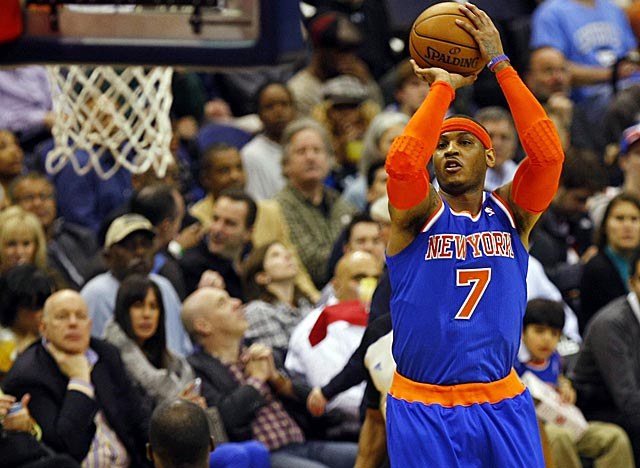 For all the Knicks gave up to get him, can Melo validate the deal by leading NY to a title? (USATSI)