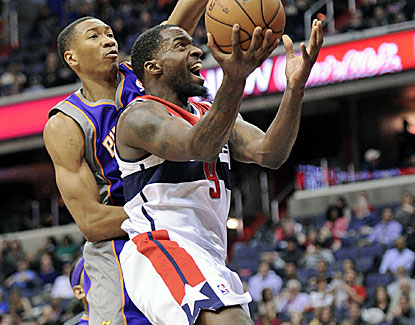Martell Webster scores a career-high 34 points, becoming the Wizards' first 30-point scorer this season. (AP)